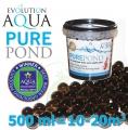 Pure Pond Black Balls bacterials, startovací a čistící samo se dávkující bakterie pro bio-rovnováhu ve filtracích a jezírku, 500 ml pro 10-50 m3, pro celoroční použití od 4 °C