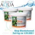 Stop Blanketweed 12 kg, bio-preparát pro odstranění dlouhých řas, 3x4000 g pro 120-360 m3