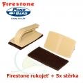 Firestone Hadle-Pad set, rukojeť a 5 ks stěrek (Quick scrubber Kit)
