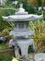 Rokkaku Yukimi - japonská lampa - šedá, průměr 45 cm
