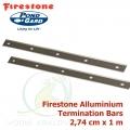 Firestone Aluminium Termination Bar 2,74 cm x 1 m, hliníkový uchycovací pásek
