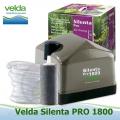 Vzduchovací set Velda Silenta 1800, 30 litrů/min., včetně 1 ks GIANT vzduchovacího kamene a 5 m hadičky