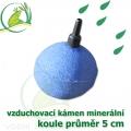 Vzduchovací kámen minerální, koule průměr 5 cm