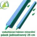 Vzduchovací kámen minerální, pásek 25 cm. jednostranný
