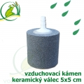 Vzduchovací kámen keramický, válec 50x50x6 mm
