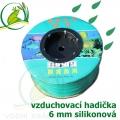 Vzduchovací hadička silikonová 6 mm, cena za 1 metr