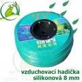 Vzduchovací hadička silikonová 8 mm, cena za 1 metr