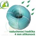Vzduchovací hadička siliková 4 mm, cena za 1 metr