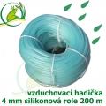 Vzduchovací hadička silikonová 4 mm, balení 200 m