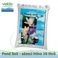 Sázecí hlína pro lekníny a vodní rostliny 10 litrů