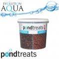 EA Pond Treats, 4 druhy exklusivního speciálního krmiva pro koi a okrasné ryby, nejkvalitnější přírodní bílkovinné krmivo na trhu