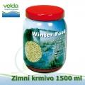 Zimní-celoroční potápivé krmivo pro veškeré druhy ryb a jesetery, 1500 ml, malé granulky cca 2-3 mm, neplovoucí