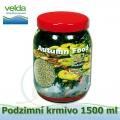 Podzimní krmivo pro veśkeré druhy okrasných ryb, balení 1500 ml, malé granulky cca 2-4 mm
