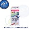 Celulózní enzymy, bakterie pro celoroční použití, Microbe-lift Spring/summer cleaner, 455 gram, 8 sáčků á 57 g/ 10-20.000 l na jarní sezónu