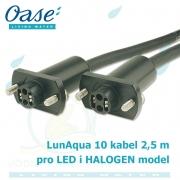 Spojovací kabel 2,5 m pro LunAqua 10 HALOGEN a LED