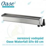 Oase Waterfall 60, nerez vodopád o šíři 60 cm