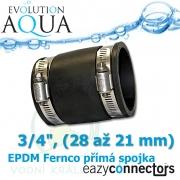 EA EPDM spojka 3/4, (28 až 21 mm)