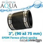 EA EPDM spojka 3, (90 až 75 mm)