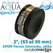 EA EPDM koncovka 2, (63 až 50 mm)