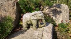 Kamenné zvíře - Slon