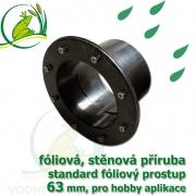 PVC příruba fóliová 63 mm