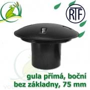 Gula jezírková přímá, dnová vpusť RTF 75 mm, boční, spodní sání bez základny, gula přirubová, trubková