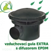 Gula jezírková 110 mm vzduchovací, membránová
