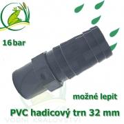 PVC lepící trn 32 mm, na 32-34 mm hadici
