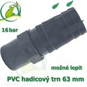 PVC lepící trn 63 mm, na 63-64 mm hadici