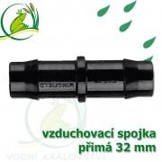 Spojka přimá PP 32 mm vzduchovací, hadičková