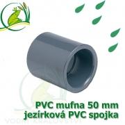 PVC mufna, jezírková spojka 50 mm, lepení/lepení