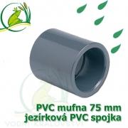 PVC mufna, jezírková spojka 75 mm, lepení/lepení