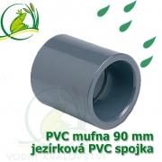 PVC mufna, jezírková spojka 90 mm, lepení/lepení