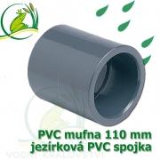 PVC mufna, jezírková spojka 110 mm, lepení/lepení