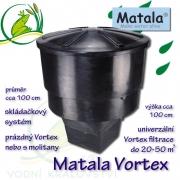 Matala Vortex filtrace, pro jezírka od 10 do 50 m3 , použitá filtrace bez náplní