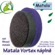 Matala set pro Vortex filtrace, BLACK+GREEN+BLUE role