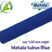 Matala tubus, jemný BLUE, délka 100 cm, průměr 10 cm