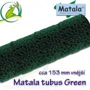 Matala tubus, polo jemný GREEN, délka 100 cm, průměr 15 cm