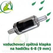 vzduchovací zpětná klapka 6-9 mm