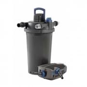 Tlakový filtrační set FiltoClear Set 20000 + Pure BOMB a Pure Pond Black Balls 1000 ZDARMA, UVC 36W + AquaMax Eco Premium 12000