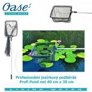 Profesionální jezírkový podběrák - Profi Pond net 40x30x20