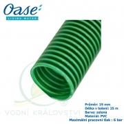 Oase - Vrapová hadice zelená 3/4 - Spiral hose green 3/4
