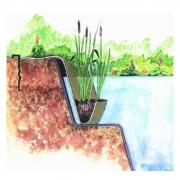 Rostlinná kapsa - Aqua Bag, Marginal plant holder jute