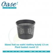 Koš na vodní rostliny kulatý 13cm - Plant basket round 13