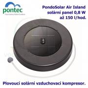 Pontec PondoSolar Air Island - Plovoucí solární vzduchovací kompresor