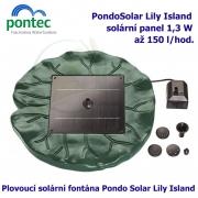 Pontec PondoSolar Lily Island - Plovoucí solární fontána