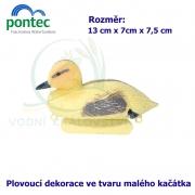 Duckling - Plovoucí káčátko 13 x 7 x 7,5 cm