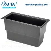 Plastové jezírko - Oase Preformed pond PE 380 x 780 x 450 mm, cca 80 litrů samonosná nádrž, max. cca 130 litrů vody