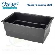 Plastové jezírko - OASE Preformed pond PE 1150 x 750 x 450 mm, cca 280 litrů samonosná nádrž, max. cca 380 litrů vody