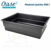 Plastové jezírko - OASE Preformed pond PE 1150 x 1550 x 450 mm, cca 600 litrů samonosná nádrž, max. obsah cca 800 litrů vody